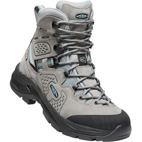 Keen Karraig Mid WP Schuhe Damen steel grey/smoke blue